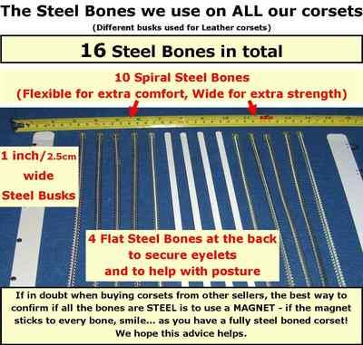Corset Boulevard Steel Bone Image